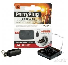 Alpine PartyPlug Black füldugó
