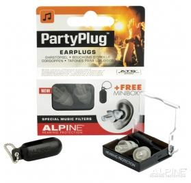 Alpine PARTYPLUG-MKII koncert és party füldugó