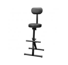 Voice-Kraft Lábtartós szék háttámlával - összecsukható