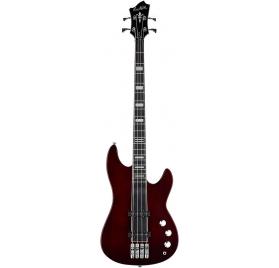 HAGSTROM Bass guitar, Super Swede, Natural Mahogany