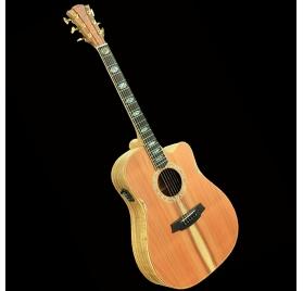 Cole Clark FL3EC-RDBL elektroakusztikus gitár