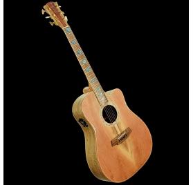 Cole Clark FL3EC-RDBL-AE elektroakusztikus gitár