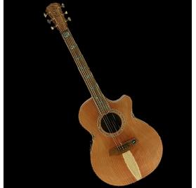Cole Clark AN3EC-RDBL-AE elektroakusztikus gitár