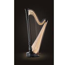Lyon & Healy Chicago Concertino Extended pedálos hárfa - 47 húros