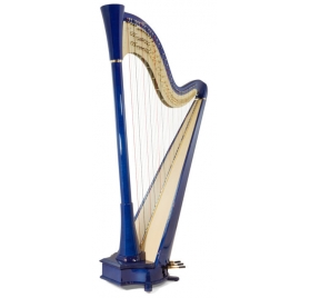 Camac The Blue 47 electroacoustic pedal harp