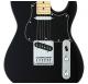 FGN Boundary Iliad, 2x Singlecoil, black elektromos gitár