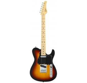 FGN E-Guitar, Boundary Iliad, 2x Singlecoil, 3-Tone Sunburst