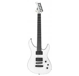 FGN E-Guitar, J-Standard Mythic, Open Pore White, Bag