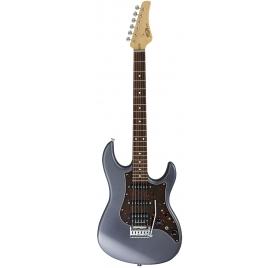 FGN E-Guitar, J-Standard Odyssey, Charcoal, Bag