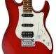 FGN J-Standard Odyssey FM 2 Transparent Red Burst elektromos gitár