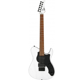 FGN E-Guitar, J-Standard Iliad Dark Evolution 664, Open Pore White, Bag