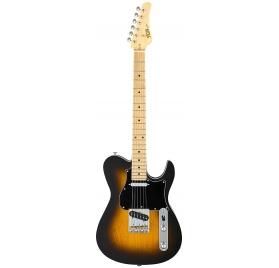FGN E-Guitar, J-Standard Iliad, 2-Tone Sunburst, Bag