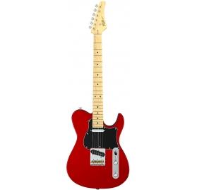 FGN E-Guitar, J-Standard Iliad CL, Candy Apple Red, Bag