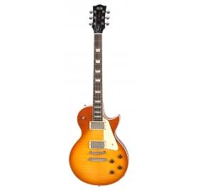 FGN E-Guitar, Neo Classic LS20, Faded Cherry Sunburst, Bag