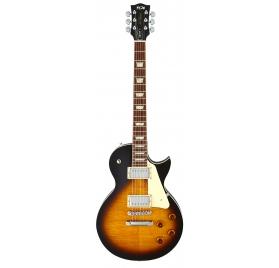 FGN E-Guitar, Neo Classic LS20, Heritage Darkburst, Bag