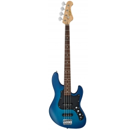 FGN Bass Guitar, Boundary Mighty Jazz, Transparent Blue Sunburst