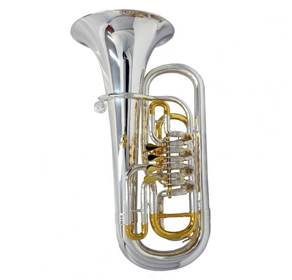 Garry Paul GP-EP-971S Bb euphonium - kompenzált, forgóventiles