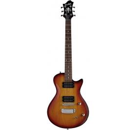 HAGSTROM E-Guitar, Ultra Swede ESN, Tobacco Sunburst