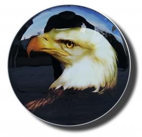 Eagle bass drum head
