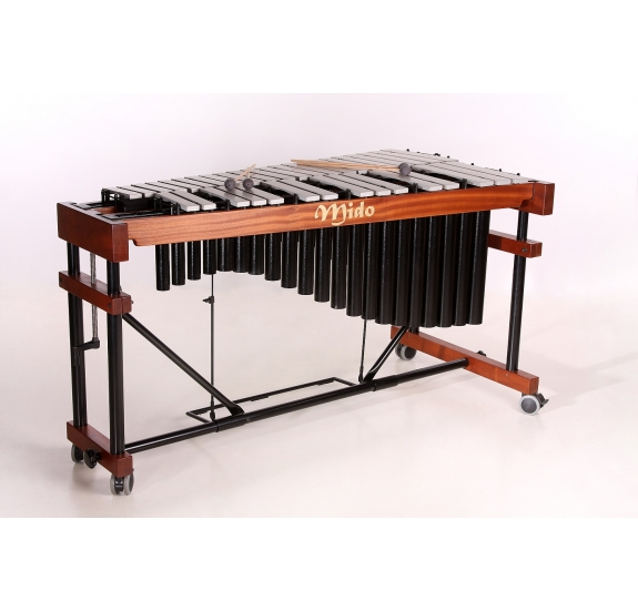 Mido Concierto 3 vibrafon ezüst lapokkal - 3 oktáv