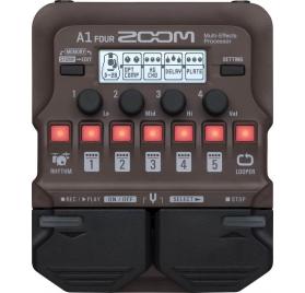 Zoom A1 Four multieffekt számos hangszerhez