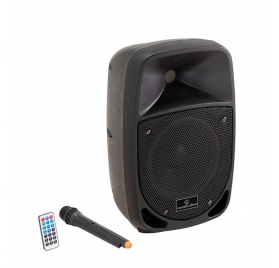 Soundsation GO-SOUND 8AMW - Portable 2-Way Active Speaker with Rechargeable Battery