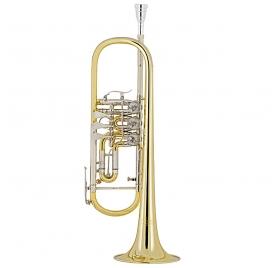 Cerveny CTR 501 RT Bb rotary valves trumpet