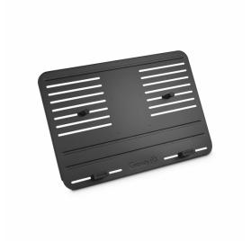 Gravity laptop és kontroller tálca – állítható rögzítőcsapokkal, fekete