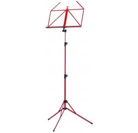 König & Meyer kottaállvány – teleszkópos, nikkel/kék/piros