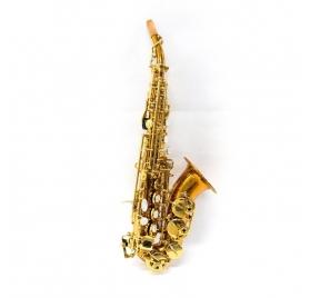 L.A.Ripamonti 5020VFRR curved soprano saxophone - Solid Copper