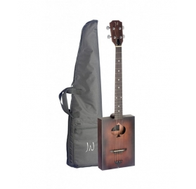 James Neligan CASK-FIRKIN CIGAR BOX szivardobozos gitár