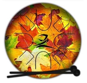 Zefiro S Nature E-minor pentatonikus tongue drum