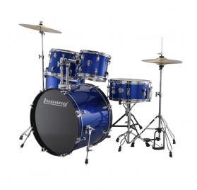 Ludwig LC17019 Accent Fuse 5 részes dobszett - kék