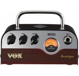 VOX MV50BQ Butique Nutube gitárerősítő fej, 50W, fejhallgató/vonal kimenet