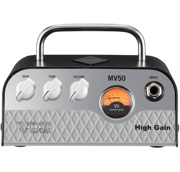 VOX MV50HG High Gain Nutube kitárerősítő fej,fejhallgató/vonal kimenet  - 50W