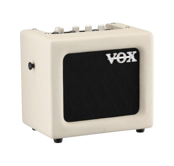 """Vox MINI3GIIIV, modellezős gitár kombó, 3 Watt, 5"""" hangszóró, krém"""