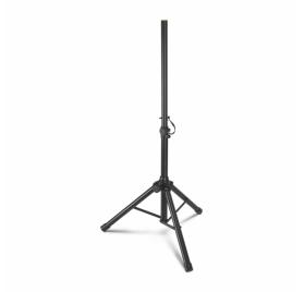 Gravity hangfalállvány (alacsony) – 75 - 132 cm között állítható, alumínium, 35 mm átmérőjű véggel, fekete