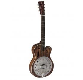 Baton Rouge  R71PC/12-SCR Rezonátor Parlor elektroakusztikus gitár - cutaway