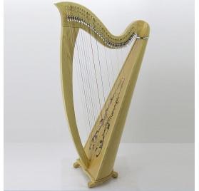 Sharon 38 String Celtic Harp