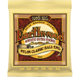 Ernie Ball Bronze Nylon Classic Ball End