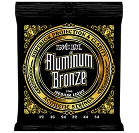 Ernie Ball Aluminum Bronze Medium Light