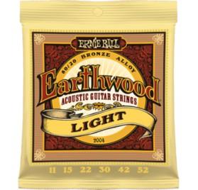 Ernie Ball 2004 Earthwood Light akusztikus gitárhúr készlet