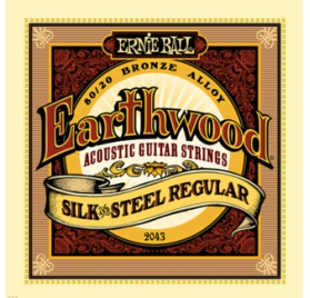 Ernie Ball Bronze Silk & Steel Regular