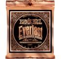 Ernie Ball 2548 Everlast Light Coated Phosphor Bronze akusztikuis gitárhúr készlet