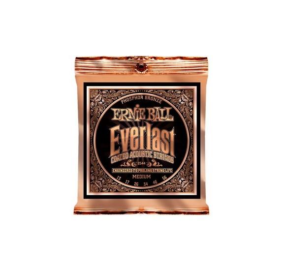 Ernie Ball Everlast Coated P. Bronze Medium