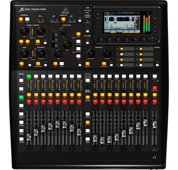 Behringer X32 PRODUCER 40 csatornás digitális keverőpult