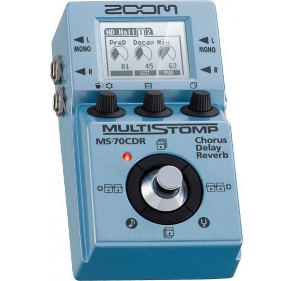 Zoom MS-70CDR gitár multieffekt