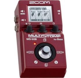 Zoom MS 60B basszusgitár multieffekt