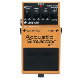 Boss Ac-3 Akusztikus Gitár Szimulátor