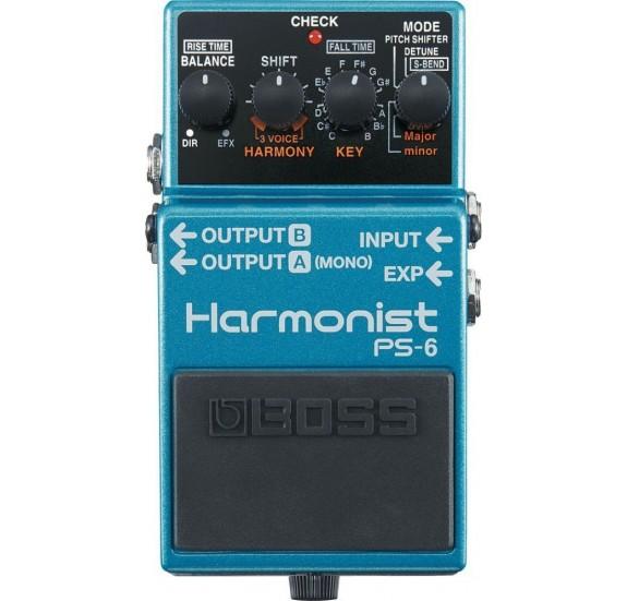 Boss Ps-6 Gitár Harmonist Pedál